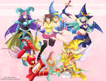 Anzu and magicians girls
