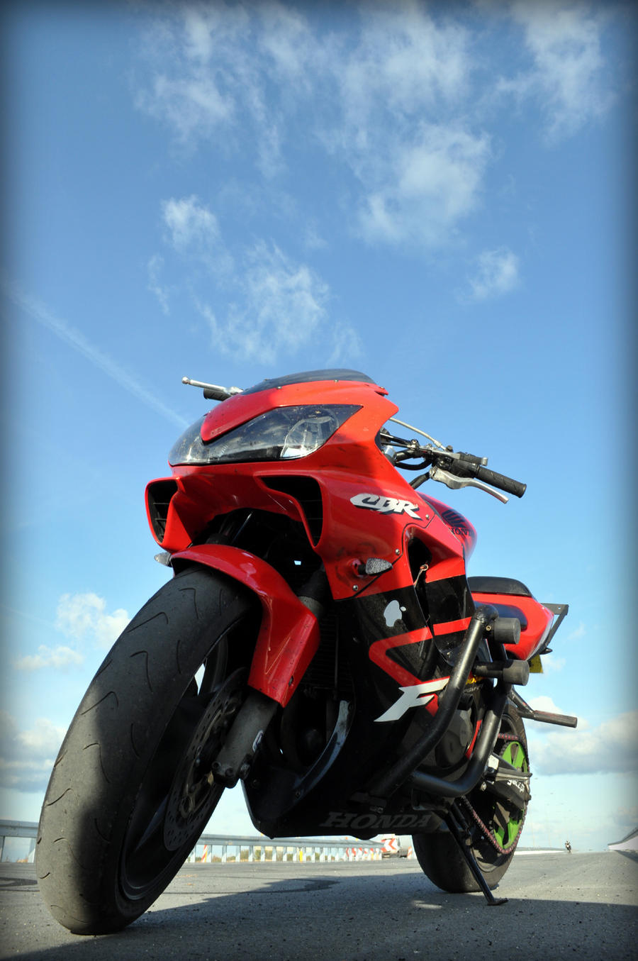 Stunt shots - 5 - Honda CBR by shaaaadow