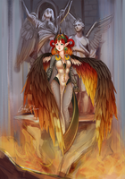 Fire Empress Calida by LuckyChiro
