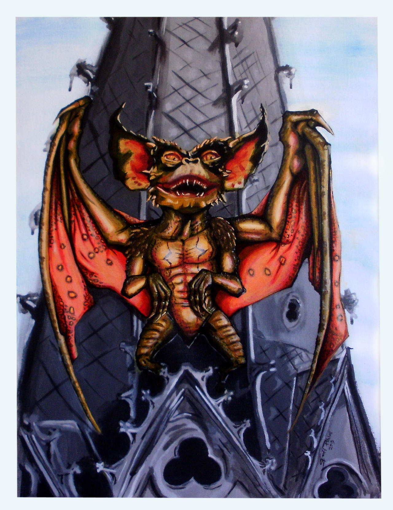 Bat-Gremlin by Ace-McGuire
