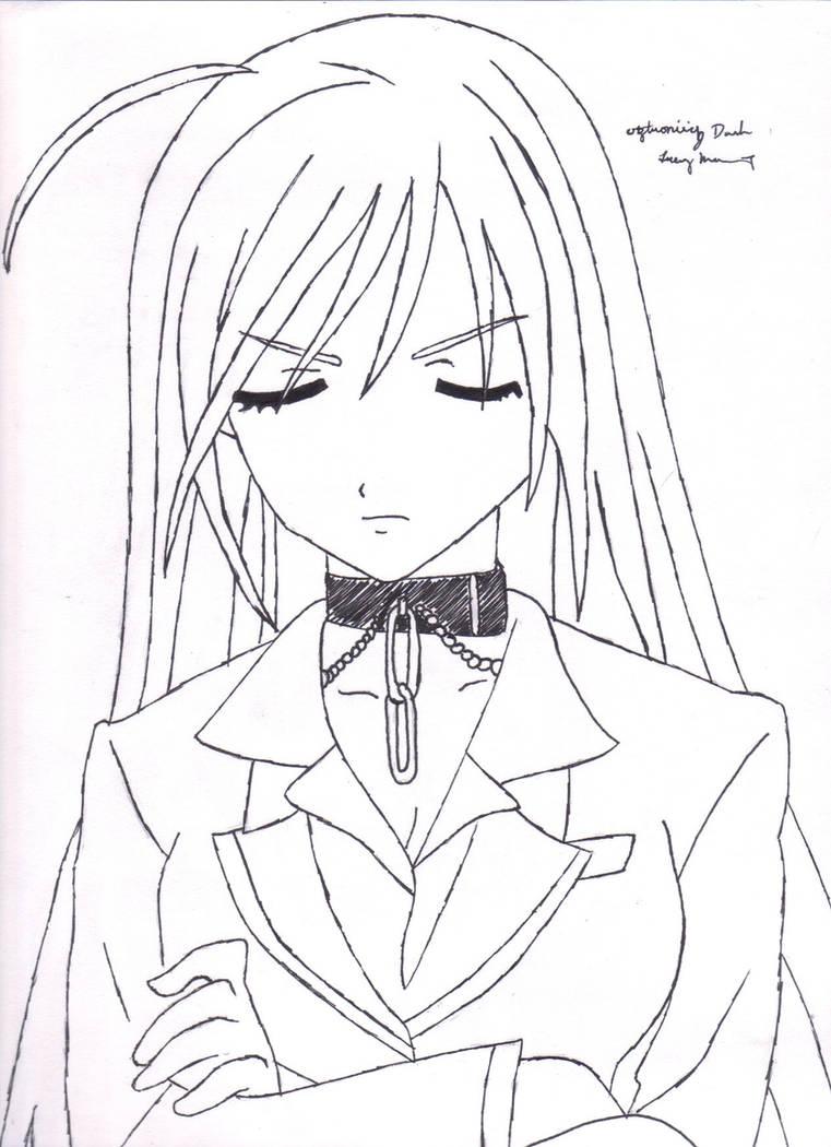 Moka Akashiya(Vampire) by TunefulToshi on DeviantArt