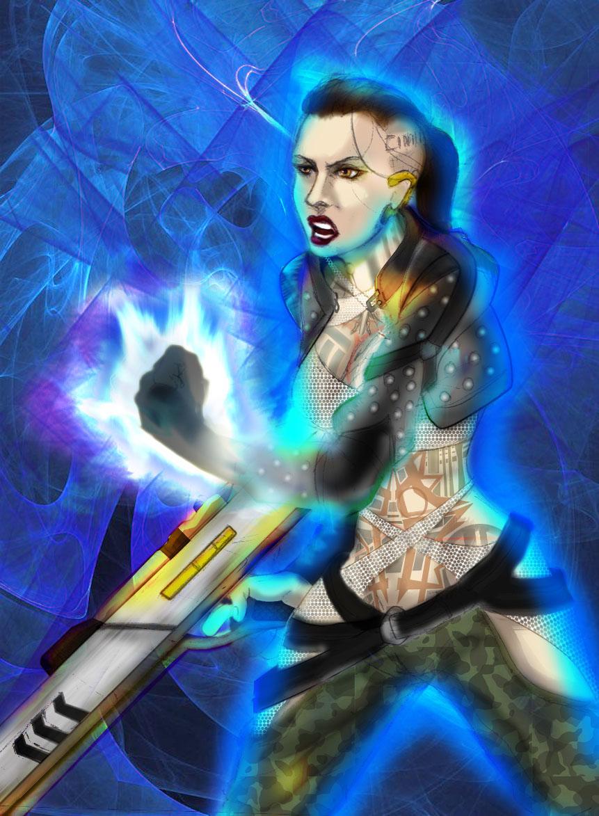 The Psychotic Biotic by zenlang