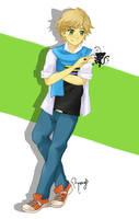 Adrien Agreste (MLB) by happygirlXD