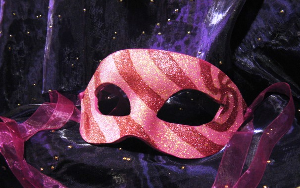 Pink Spiral Mask by ToTheMask