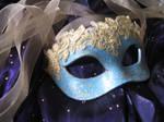 Aphrodite Handmade Leather Masquerade Mask