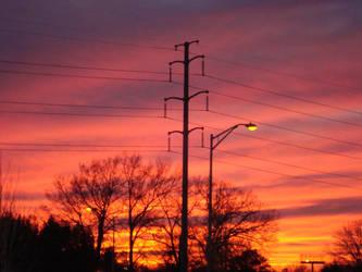 Winter Sunset by PiinkSummer07