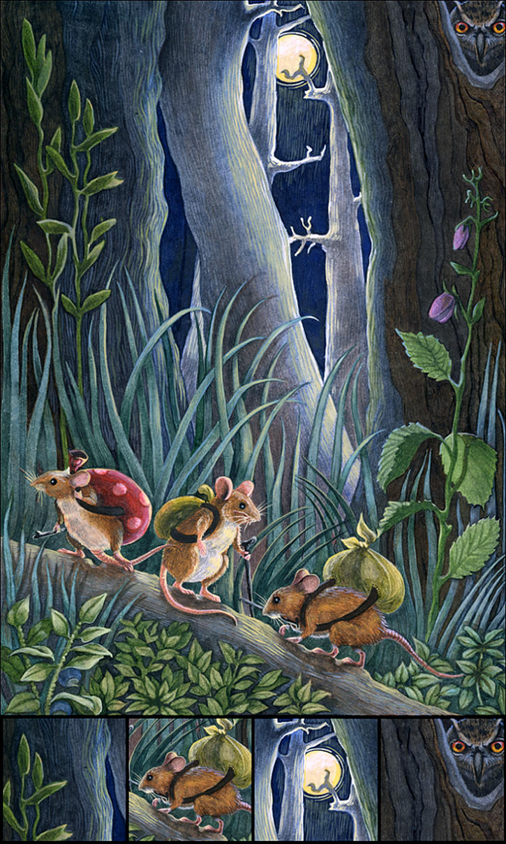 Mouse road by Leroks