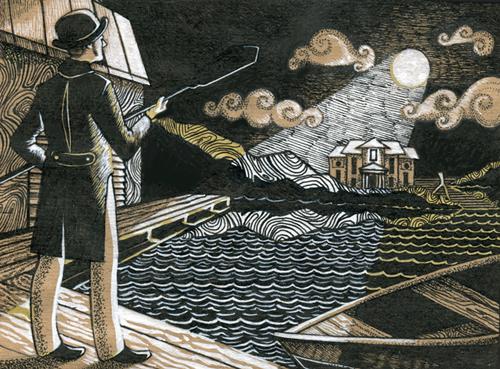 The Phantom of the Lake by Leroks