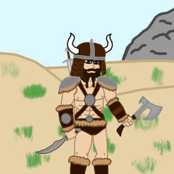 Barbarian by MysterMysterious