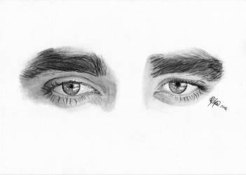 Eyes of Robert Pattinson by WeAreMeHUh