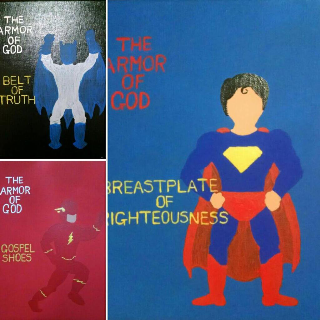 a work in progress armor of god superhero set by anantz0075 on