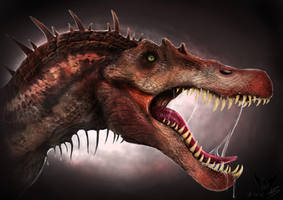 Spinosaurus aegyptiacus by Mattermorfer