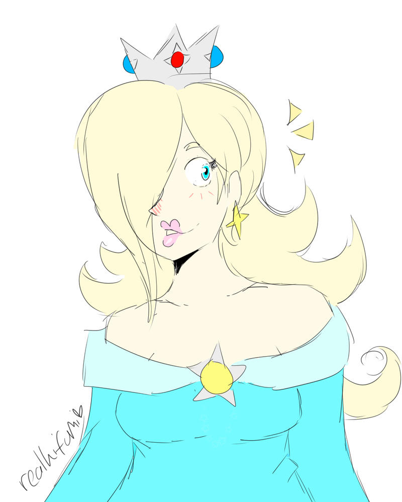 Rosalina doods by YoshiDaisyFriends