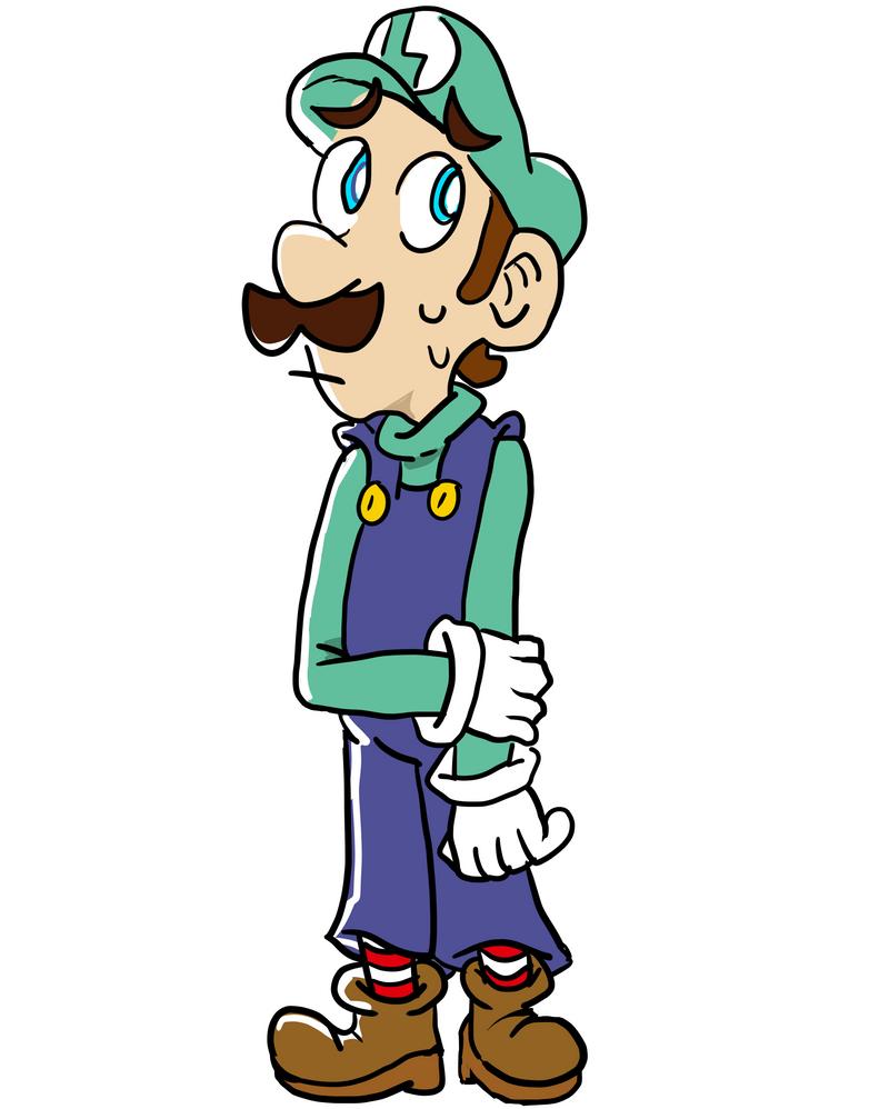 Luigi by YoshiDaisyFriends