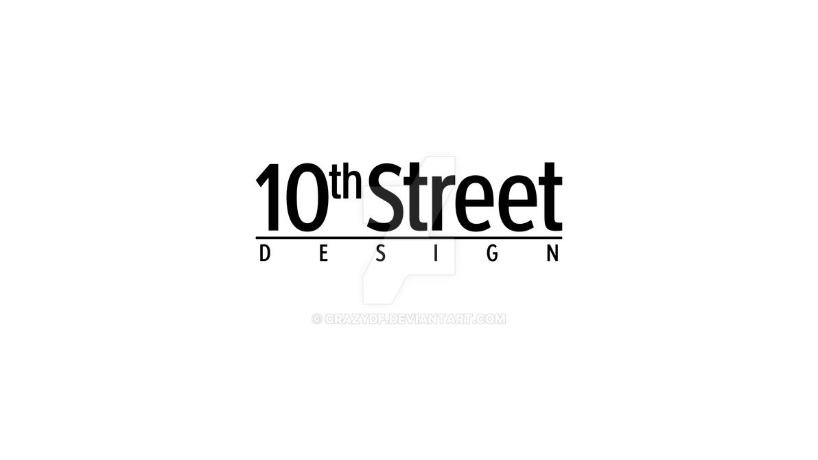10th Street _ Design - logo by crazydf