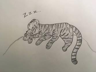 8-legged Tiger by WhimsyBridges