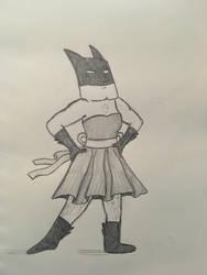 Batman in a Dress by WhimsyBridges