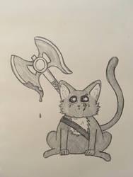 Battle Cat by WhimsyBridges