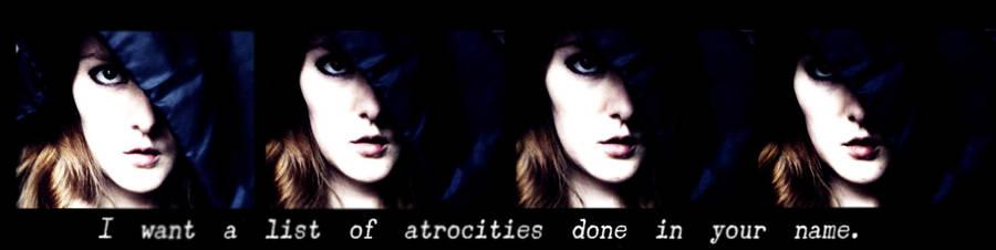 Want - Atrocity by Sophminx