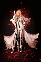 Saber bride cosplay / fate extra CCC 5