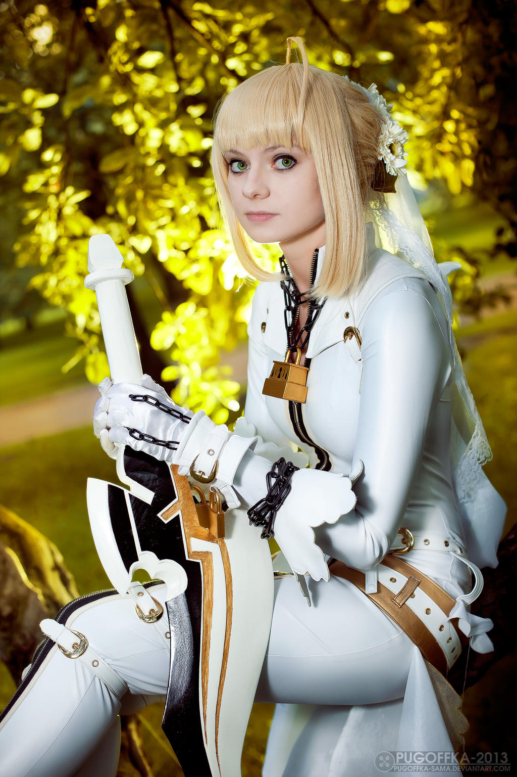 watching you saber bride cosplay by selenaadorian on