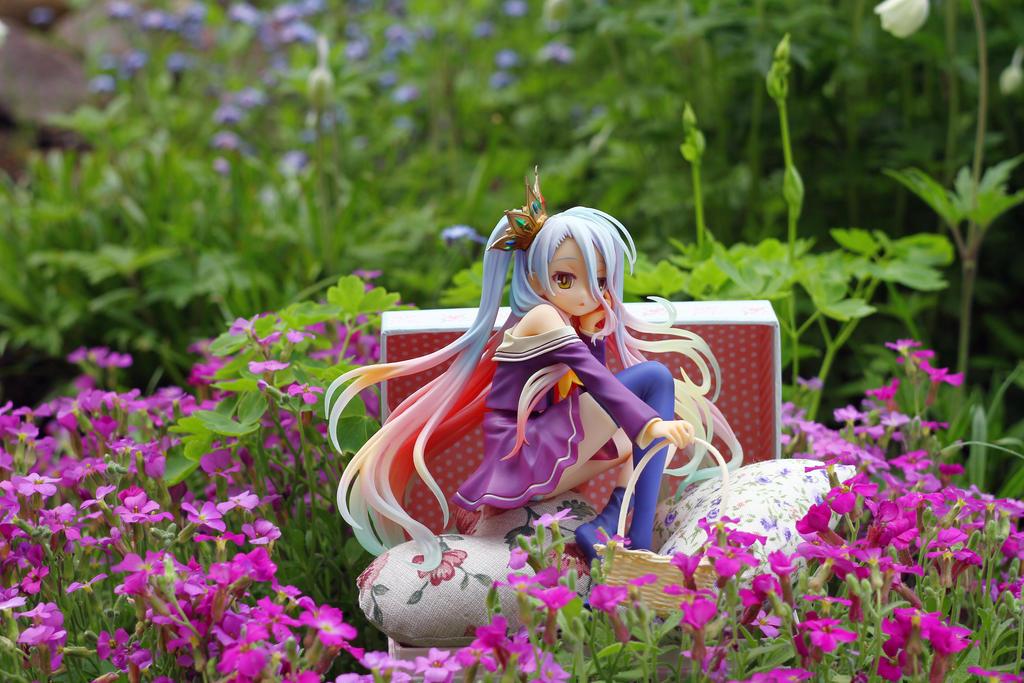 Shiro in flowers by SelenaAdorian