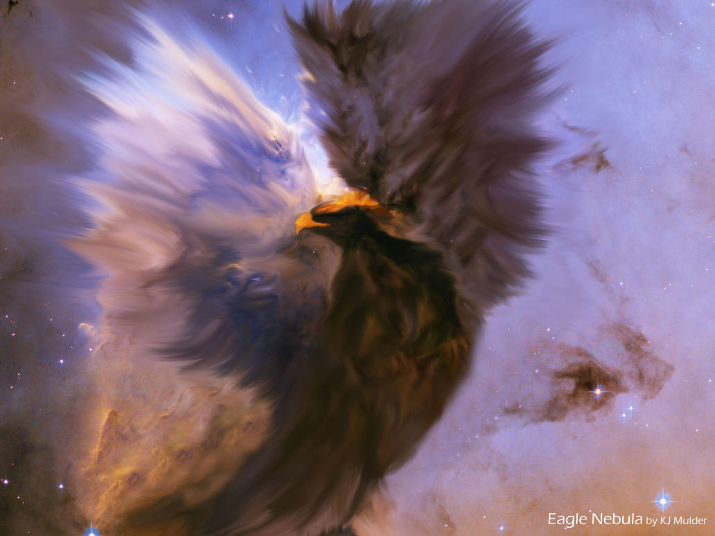 Eagle Nebula By ChaosCrusader