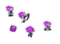 Vegeta the hedeghog sprites by 100hypersonic