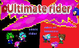 ultimate rider poster 2 by 100hypersonic
