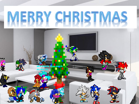 merrychristmas form the sonicriders *cough* cast by 100hypersonic