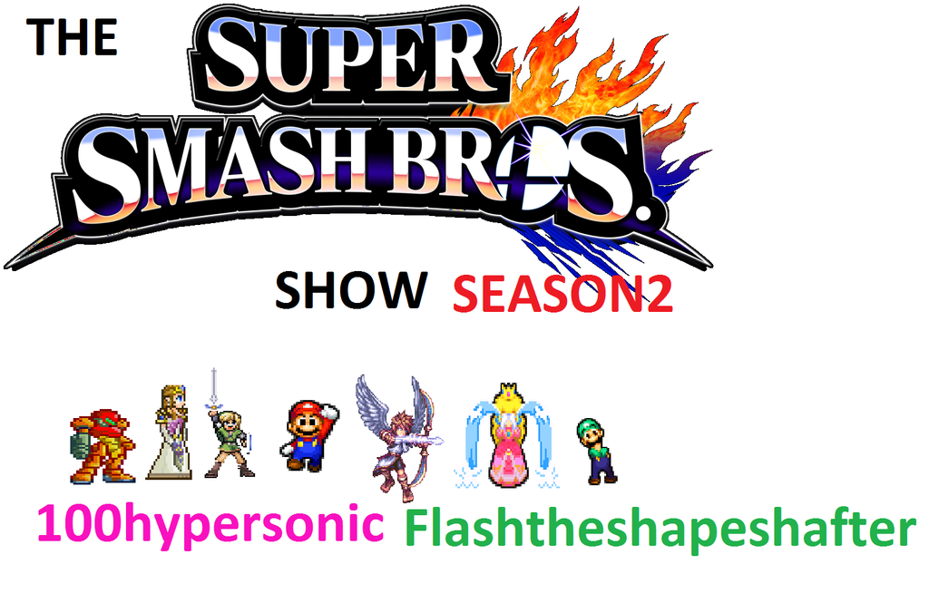 the super smash bros show poster by 100hypersonic