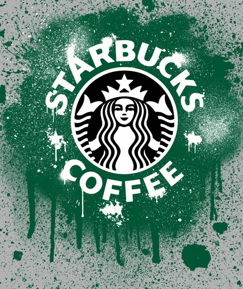 Starbucks Graffiti By Bleachime