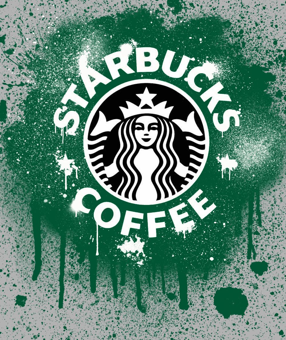 Starbucks Graffiti by Bleachime on DeviantArt