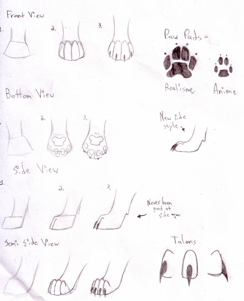 paw tutorial for tigeroo24 by whitewolf12321