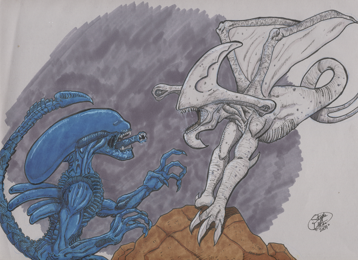 xenomorph vs necromorph - photo #43