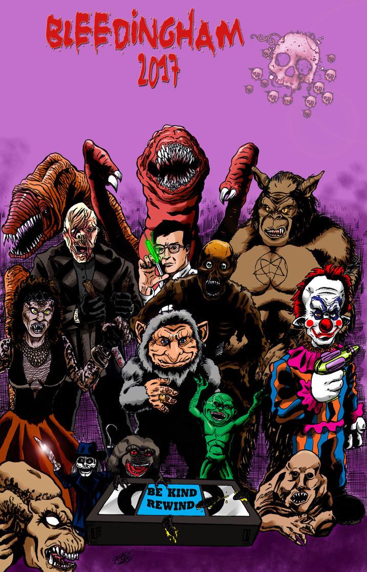 80's VCR horrors by MonsterIslandStudios