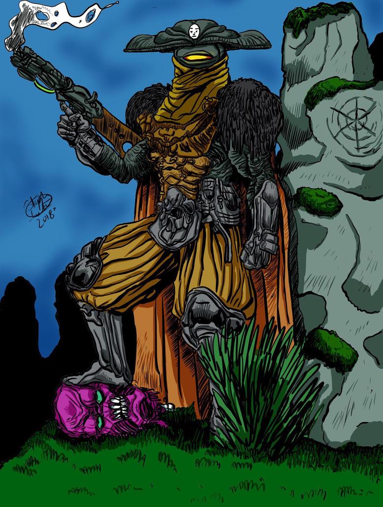 Zeiram by MonsterIslandStudios