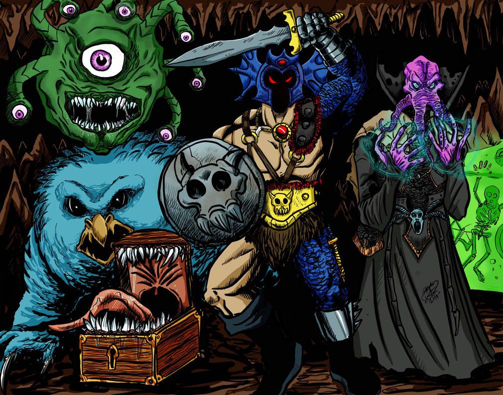 Dungeons  Dragons  by MonsterIslandStudios