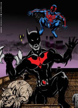 spiderman 2099 vs batman