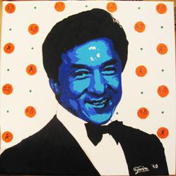 Jackie Chan Popart by AniraFarinA