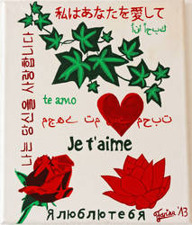 Declaration of Love Popart by AniraFarinA