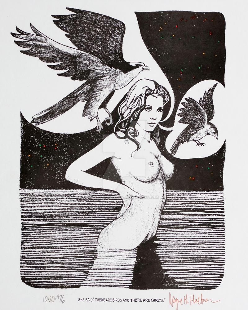 She Said R - 1976 by WayneHuebner
