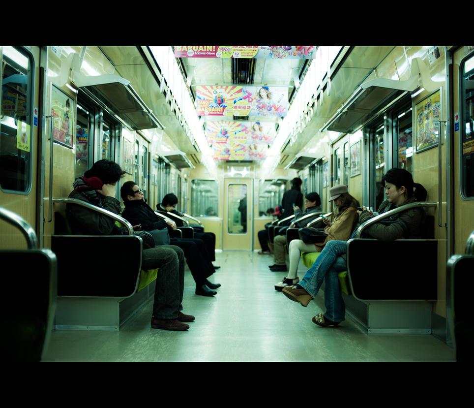 Midosuji Line by burningmonk