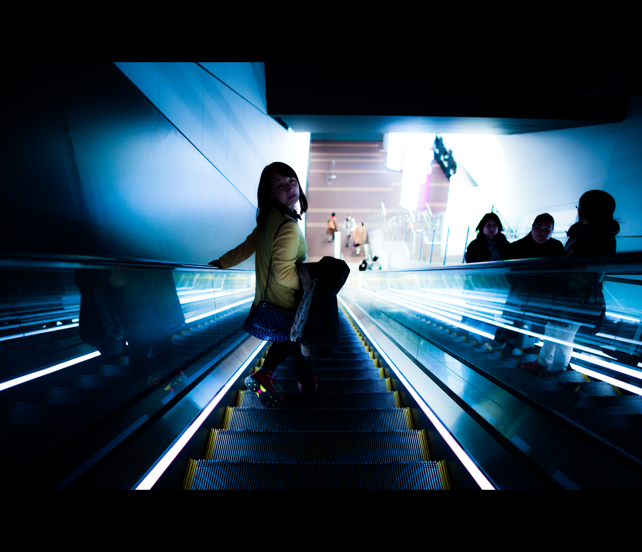 Escalator by burningmonk