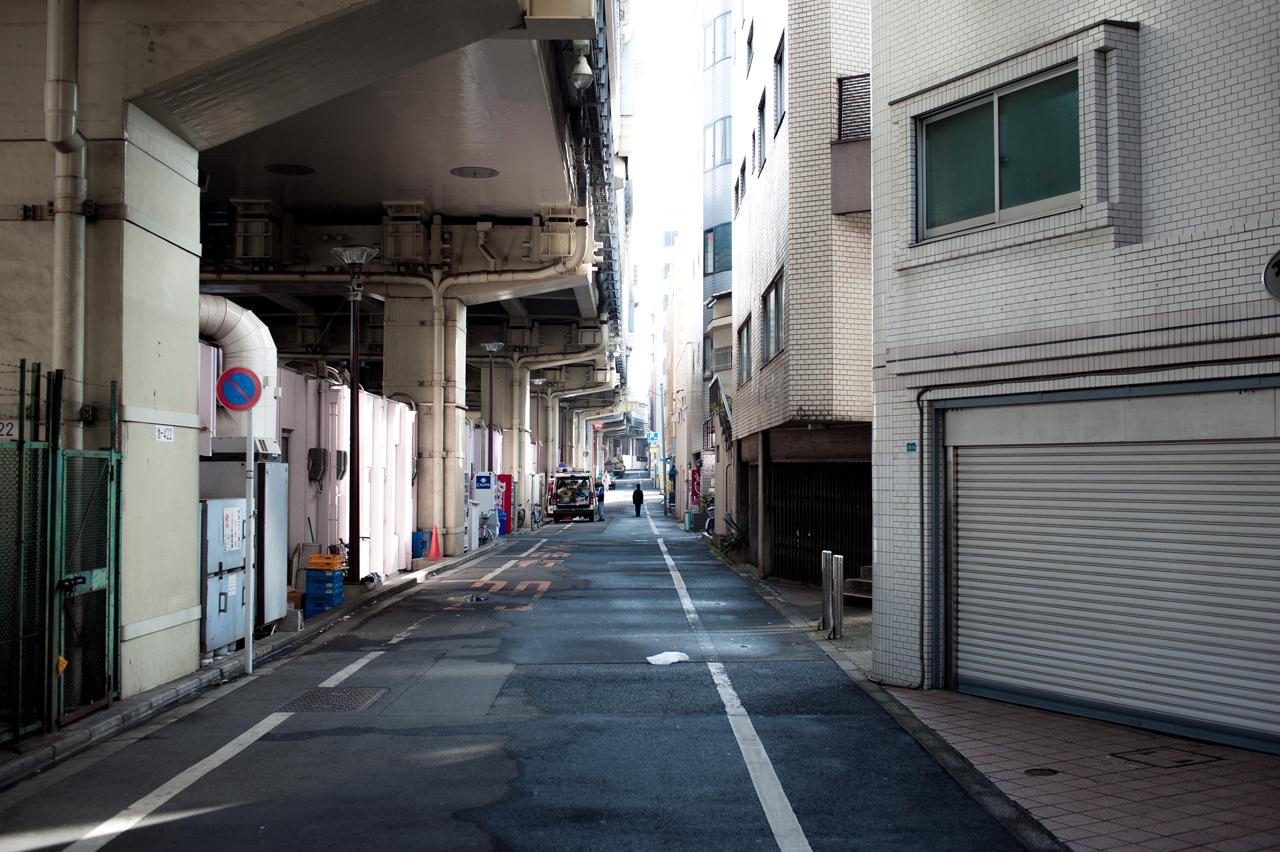 Alley by burningmonk