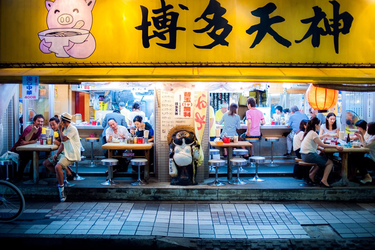 Ramen Shop by burningmonk