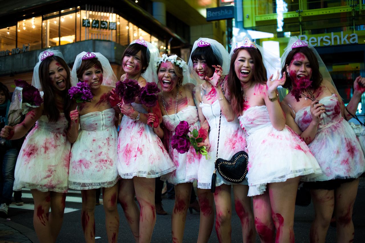 Undead Brides by burningmonk