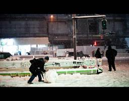 Snow Ball by burningmonk