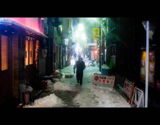 Snowy Night by burningmonk