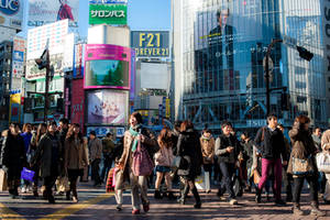 Shibuya by burningmonk